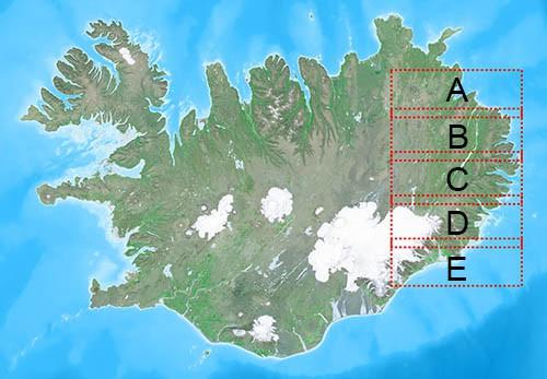Blaðskipting 1:50.000 - Hreindýraveiði