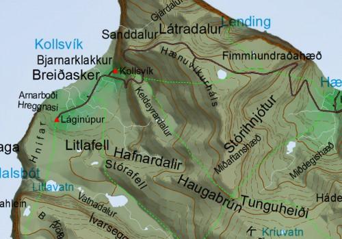 Gönguleiðir