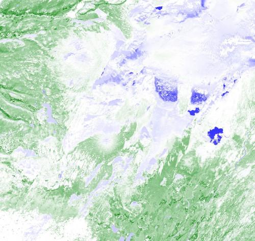 NDVI-Clouds